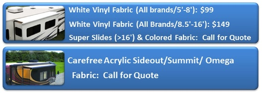 Slideout Awning Replacement Fabrics